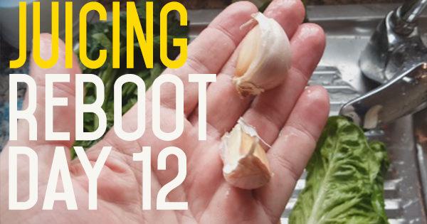 Juice Reboot Day 12 - Resetting the Salt Taste