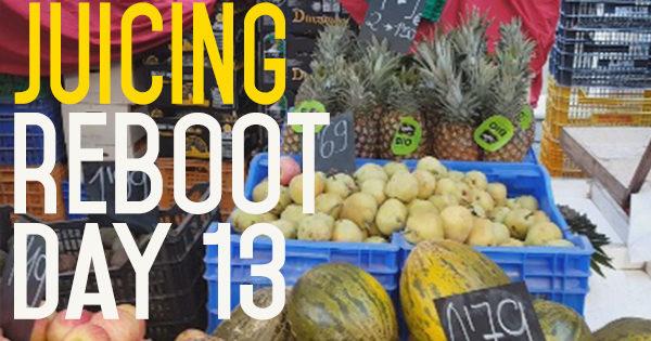 Juice Reboot Day 13 - The Farmers Market Haul